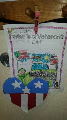 Veterans Day craft - Who is a veteran?