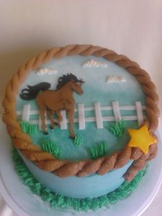Horse cake for my Brother in law