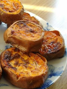Slow Roasted Sweet Potatoes