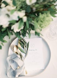 Read More: http://www.stylemepretty.com/2015/03/27/neutral-la-rio-mansion-wedding-inspiration/
