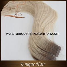 Best quality tape hair extensions factory in China, more than 17 years experience, European Remy Double Drawn Tape Hair Extensions, sewn hair with thread, the hair very strong, tang free no shedding, very soft hair, can last long time, hair salons best choice,welcome visit our website https://www.uniquehairextension.com/product-category/tape-hair/tape-in-hair/  or email us sales@uniquehairextension.com for more information