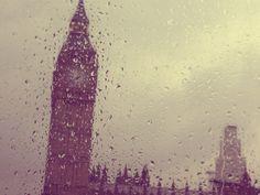 Piove sulla torre di Londra