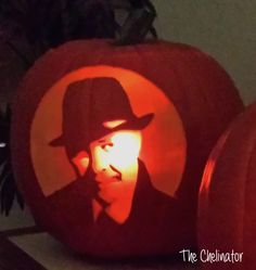 James Spader Red Reddington Pumpkin Carving