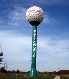 Golf Ball Water Tower