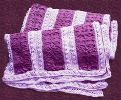 Image detail for -... afghan was rosy ribbons from leisure arts mile a minute afghans i used