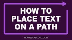 Affinity Designer Tutorial - How to Place Text  On A Path (scheduled via http://www.tailwindapp.com?utm_source=pinterest&utm_medium=twpin&utm_content=post87007427&utm_campaign=scheduler_attribution)