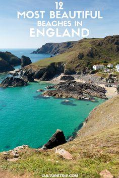 England's 12 Most Beautiful Beaches Pinterest: theculturetrip