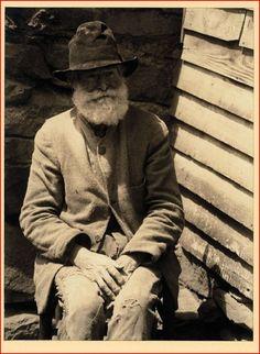 """Old Man Miller"", Pine Log, North Carolina - Doris Ulmann Photographic Collection (University of Kentucky)"