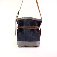 Blue Crossbody Bag Deep Ocean Blue Bag large bags crossbody