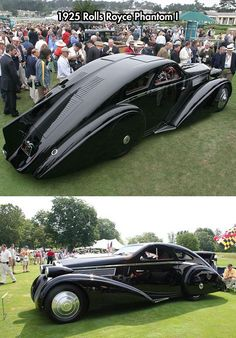 1925 Rolls Royce Phantom. The original Batmobile even before Batman!