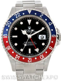Rolex GMT Master II Mens Watch 16710