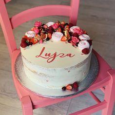 Cake, Desserts, Pink, Pie Cake, Cakes, Deserts, Dessert, Postres, Pink Hair