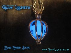 Shooting Star Cage Glow Locket ™. For Pey and Ja.
