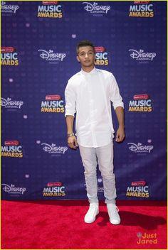 Jordan Fisher at the Radio Disney Music Awards 2016
