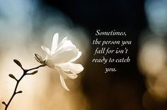 Sometimes the person ...