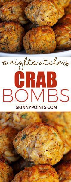 – All about Your Power Recipes Weight Watchers Crab Bombs! – All about Your Power Recipes Weight Watchers Deli CrabPizza BombsWeight Watchers Easy And Skinny Recipes, Ww Recipes, Fish Recipes, Seafood Recipes, Appetizer Recipes, Low Carb Recipes, Cooking Recipes, Healthy Recipes, Recipies