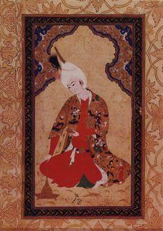 Red lead #vintagemaya #miniature painting #Persian art #handmade #red lead