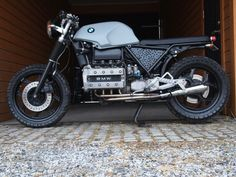 Dear friends, short into from Oslo, Norway: The season is finally arriving in the northern parts of the world, and my winter project is soon ready to get Bmw Old, Bmw K100, Cafe Bike, Winter Project, Scrambler Motorcycle, Street Tracker, Norway, Old School, Brick