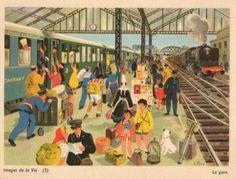 """Hélène Poirié - """"La gare"""""""