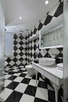 Black And White Luxury Hotel Design   Bathroom. Ok This Is My Bathroom!