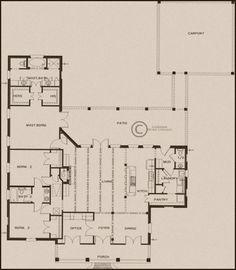 Louisiana Home Concepts Louisiana Homes, Southern Living Homes, Future House, House Plans, Floor Plans, Farmhouse, Concept, House Design, How To Plan