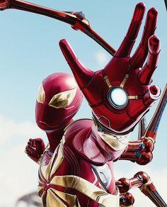 Iron spider - - Ideas of - Iron spider Marvel Dc, Marvel Comics, Marvel Heroes, Spider Man Ps4, Iron Spider, Spiderman Art, Amazing Spiderman, Marvel Wallpaper, Ultimate Spider Man