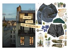 """""""a paris rooftop in spring"""" by squiddi ❤ liked on Polyvore featuring art and vintage"""