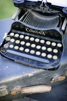 remember the sound of the keys, and the way the arms would tangle if you typed too quickly?