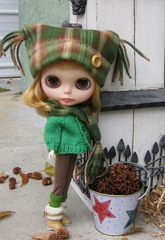cute blythe Love the hat