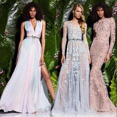 Inspiração para madrinhas! Vestidos Zuhair Murad. #madrinha #casamento #vestidodefesta #vestidolongo #vestidodemadrinha #madrinhadecasamento #zuhairmurad #noivinhasdeluxo