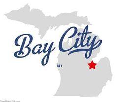 Map of Bay City Michigan MI
