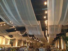 Ceiling Decor WeddingsByCassandra.com