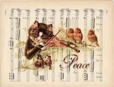 MI BAUL DEL DECOUPAGE: DALE VIDA A LA MUSICA...
