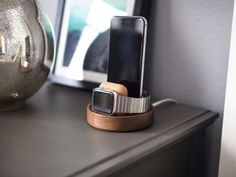 Studio Neat launches iPhone and Apple Watch docks made out of sweet sweet walnut