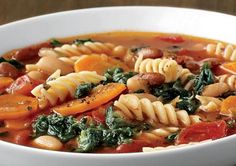 Healthy Slow Cooker Recipes: Classic Minestrone