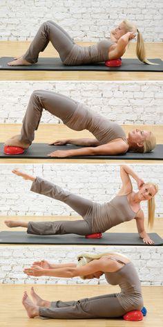 SISSEL® Spiky Dome - In Balance kommen – mit Spaß trainieren! Fördert Koordination und Balance zur Steigerung von Körperwahrnehmung und Beweglichkeit
