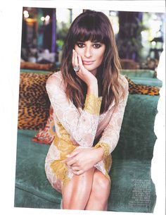 #Lea Michele #fashion #style big eyes and lace. Love.