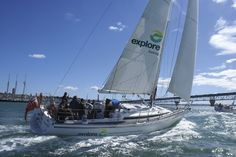 Auckland Harbour Sailing and dinner cruises. enjoy a Lunch or dinner cruise on the Pride of Auckland Yacht, Auckland's top 10 attractions & things to see & do Sailing Cruises, Sailing Ships, Auckland New Zealand, South Island, Online Tickets, Trip Advisor, Boat, Explore, Travel
