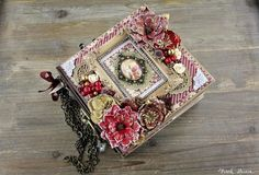 Advent Calendar Album with Frank Garcia on Live with Prima. Christmas Advent Album with Frank Garcia Tuesday, October at PT ET Join Frank Garcia to create this Advent-style album! We will be using the Victorian Christmas Collection and Christmas Mini Albums, Christmas Minis, Victorian Christmas, Christmas Journal, Vintage Christmas, Prima Marketing, Altered Books, Altered Art, Journaling
