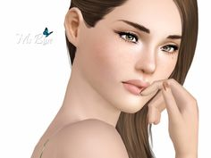 Gemma female model by Ms Blue - Sims 3 Downloads CC Caboodle