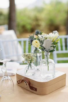 travel inspired centerpieces | Travel Themed Wedding | Pinterest ...