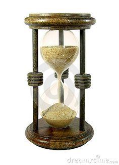 Sand clock by Sergio Schnitzler, via Dreamstime