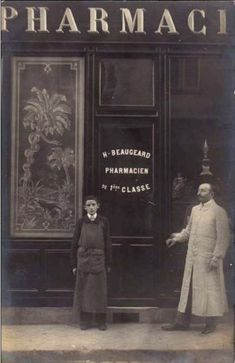 Farmacias antiguas.