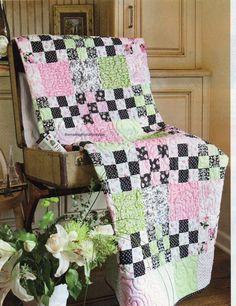 Nine Patch Parfait Quilt Pattern Pieced LC