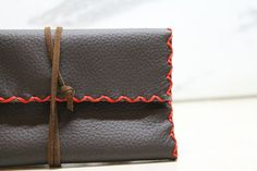 handmade leather tobacco pouch by on Etsy Leather Tobacco Pouch, Leather Pouch, Handmade Leather, Santorini, Etsy, Leather Satchel