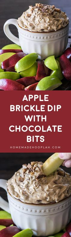 Apple Brickle Dip wi