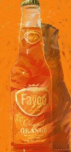 The strange taste of Faygo Orange. Some love it some think the flavor comes from Mars (but its from the D)
