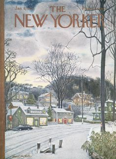 The New Yorker - Saturday, January 9, 1965 - Issue # 2082 - Vol. 40 - N° 47 - Cover by : Albert Hubbell