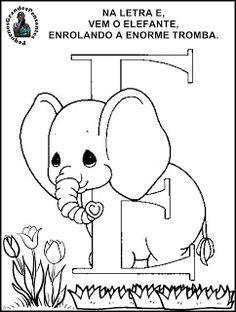 Pequenos Grandes Pensantes.: Novas Atividades com a Vogal E - Educação Infantil...