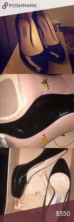 Prada pumps Worn once great condition Prada Shoes Heels